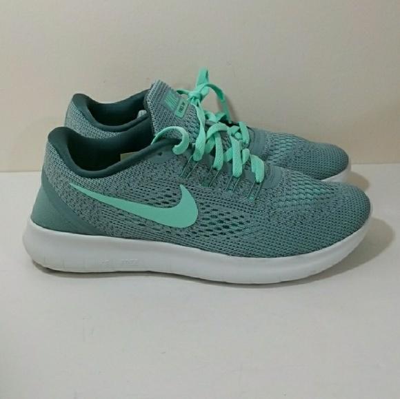 Nike Shoes   Free Run Mint Green Size 9